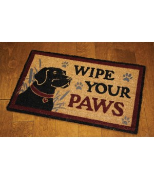 Coir Mat 30in x 18in - Wipe Paws Lab