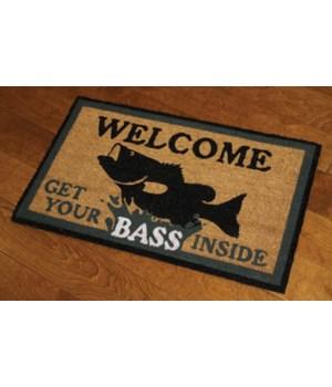 Coir Mat 30in x 18in - Bass
