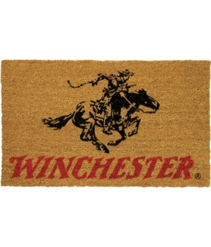 Coir Mat 30in x 18in - Winchester Horse Rider