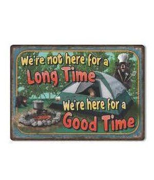 Tin Sign 12in x 17in - Good Time