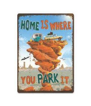 Tin Sign 12in x 17in - Park It