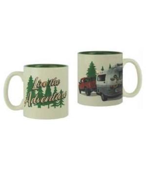 Ceramic Mug 16oz - Live the Adventure