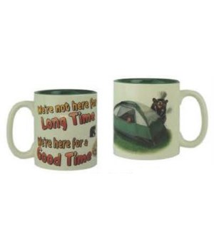 Ceramic Mug 16oz - Long Time Good Time