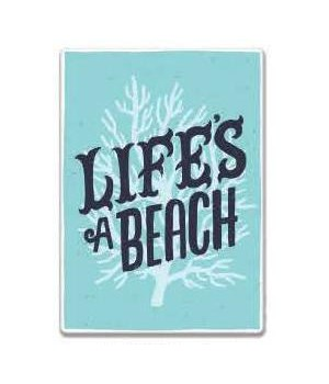 Tin Sign 12in x 17in - Life's a Beach