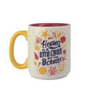 Ceramic Mug 16oz - Heaven Ocean