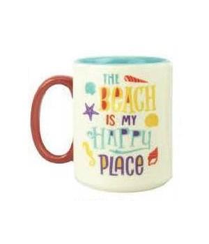 Ceramic Mug 16oz - Beach Happy
