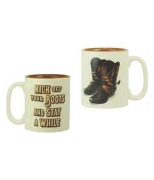 Ceramic Mug 16oz - Kick Off Boots