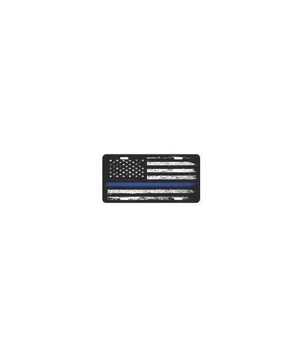 Vanity License Plate 12in x 6in - American Blue Line
