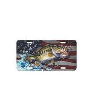 Vanity License Plate 12in x 6in - Bass American