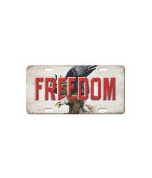 Vanity License Plate 12in x 6in - Eagle Freedom
