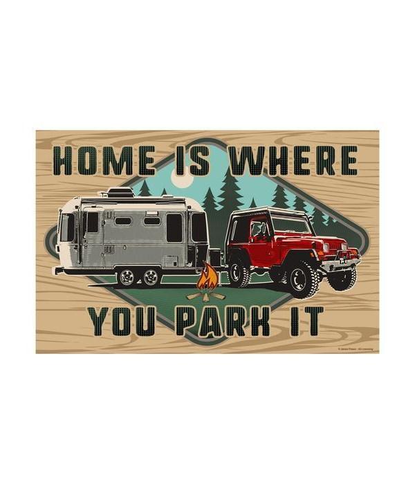 Door Mat Rubber 26in x 17in - Home Park