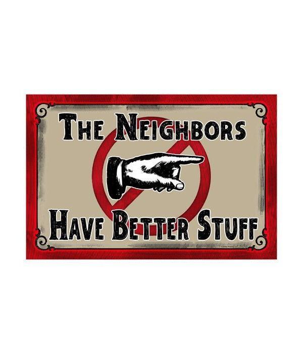 Door Mat Rubber 26in x 17in - Neighbors