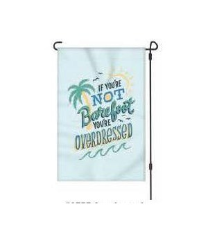 Lawn Flag with Pole - Overdressed 14 x 22  in.