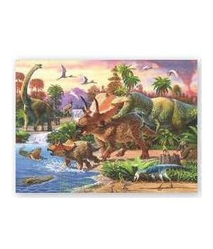 Puzzle in Tin 1000-Piece - Dinosaurs 20 x 28 in.