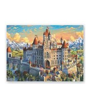 Puzzle in Tin 1000-Piece - Old Castle 20 x 28 in.