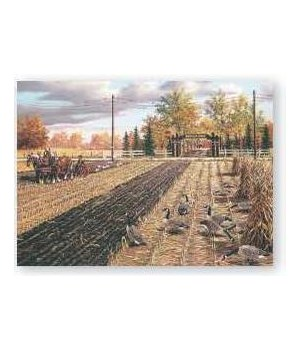 Puzzle in Tin 1000-Piece - Fall Plowing 20 x 28 in.