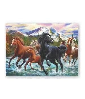 Puzzle in Tin 1000-Piece - Black Stallion Friends 20 x 28 in.
