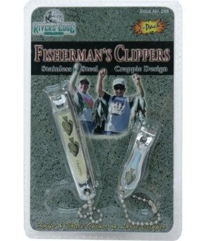 Clippers 2-Pack Crappie  in.
