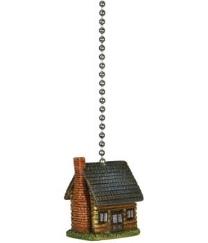 Ceiling Fan Pull - Log Cabin