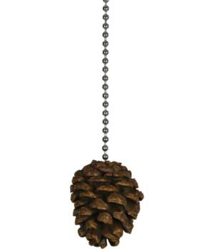 Ceiling Fan Pull - Pine Cone
