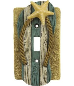 Switch Plate Cover Single - Beach
