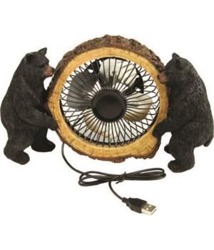 USB Fan - Bears 4 in.