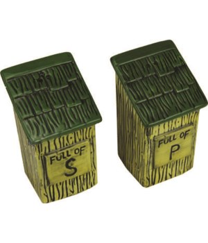 Salt and Pepper Shakers - Outhouse
