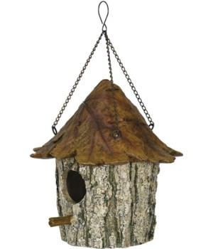 Birdhouse - Oak Tree/Leaf 8 in.
