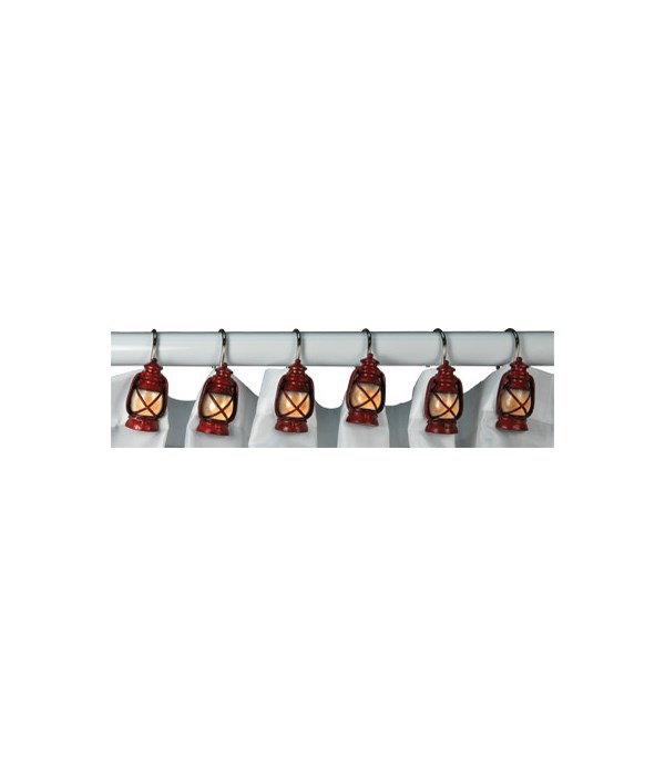 Shower Curtain Hooks - Lantern