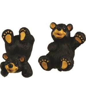Drawer/Cabinet Knobs 2-Pack - Black Bear
