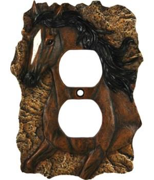 Receptical Cover - Horse