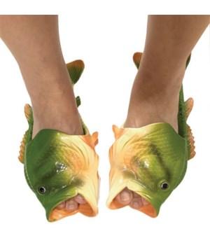 Fish Sandal Adult Large - Bass 11/12 size