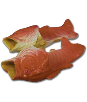 Fish Sandal Adult Large - Red Snapper 11/12 size