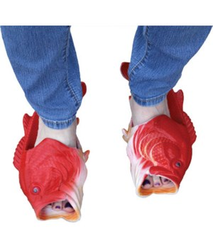 Fish Sandal Adult Small - Red Snapper 9M, 10W size