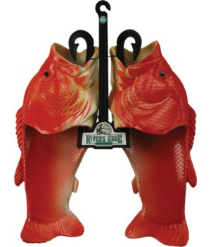 Fish Sandal Child Large - Red Snapper 5/6C, 7W size