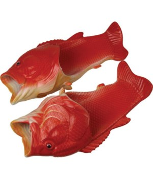 Fish Sandal Child Small - Red Snapper 11/12 size