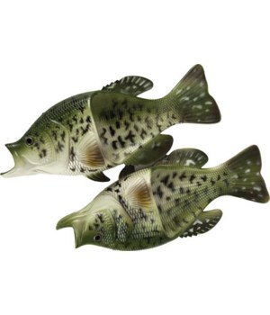 Fish Sandal Adult Small - Crappie 9M, 10W size