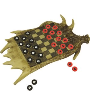 Checkerboard Set - Moose Antler