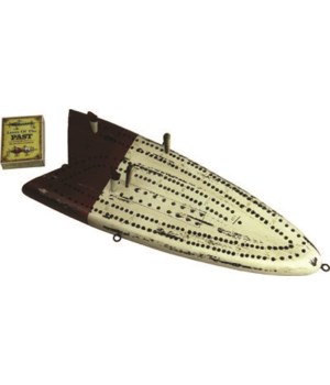 Cribbage Board - Antique Lure 18 x 7 in.