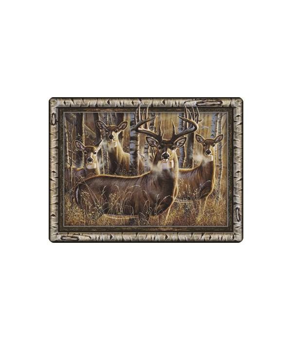 Cutting Board 12in x 16in - Multi Deer