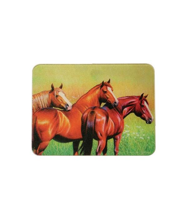 Cutting Board 12in x 16in - 3-Horse