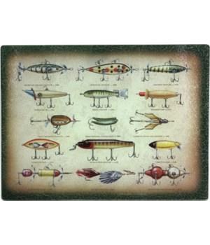 Cutting Board 12in x 16in - Antique Lure
