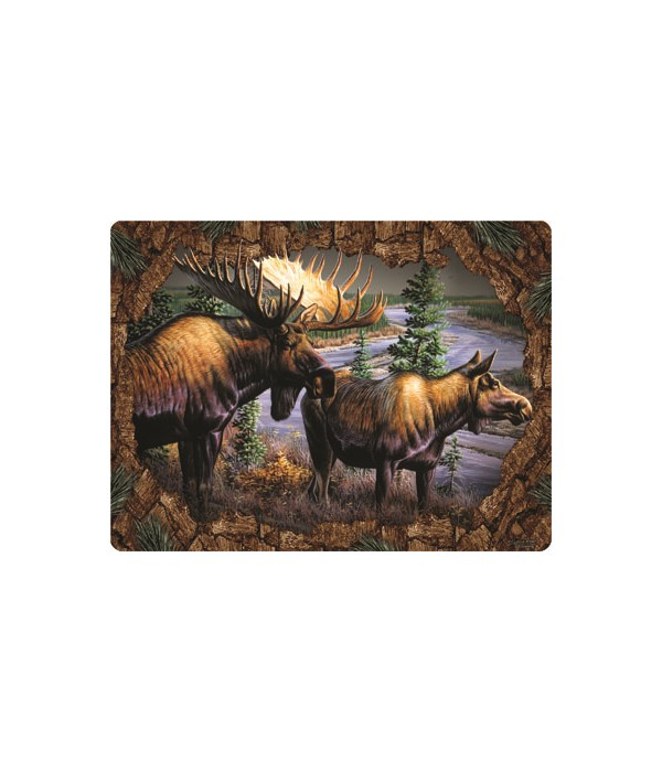 Cutting Board 12in x 16in - Moose