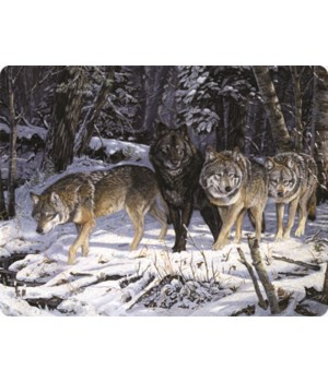 Cutting Board 12in x 16in - Wolf