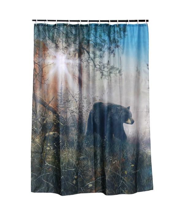 Shower Curtain - Bear70 x 72 in.
