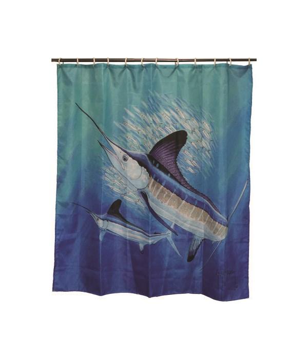 Shower Curtain - Guy Harvey70 x 72 in.