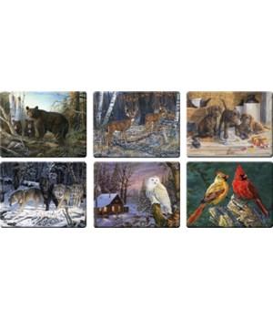 Cutting Board 12in x 16in - Assorted Wildlife
