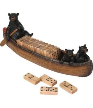 Domino Set - Canoe 10 in.