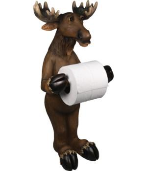 TP Holder - Standing Moose21.5 in.
