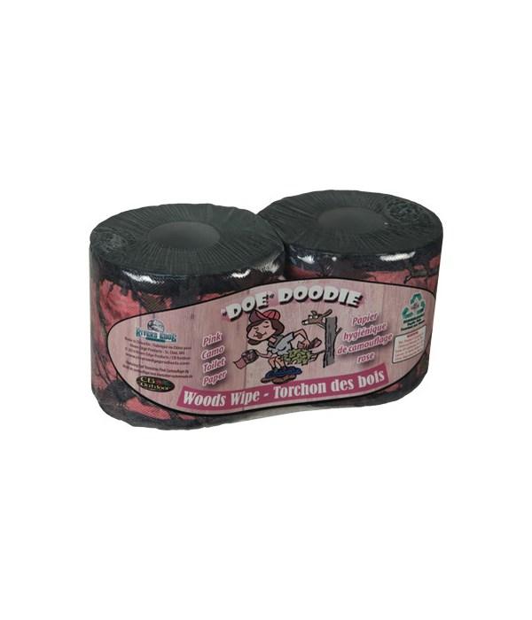 Toilet Paper 2-Pack (Minimum 12 per Display) - Pink Camo